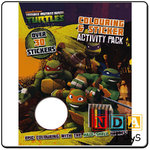 TEENAGE MUTANT NINJA TURTLES activity pack